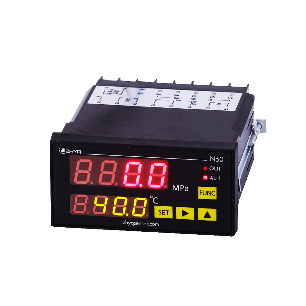 digital pressure and temperature indicator