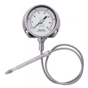 PT124Y-614- Flexible stem melt pressure gauge