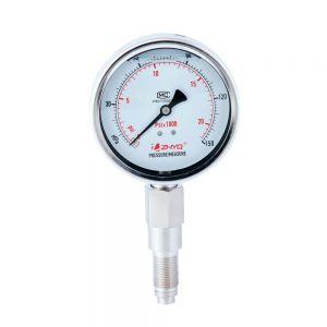 PT124Y-621- Anti-shock diaphragm pressure gauge