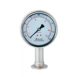 PT124Y-623- Tri-clamp diaphragm pressure gauge