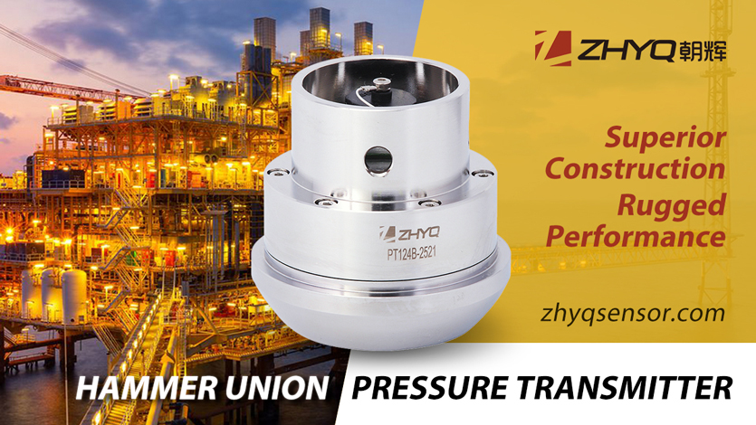 hammer union pressure transmitters